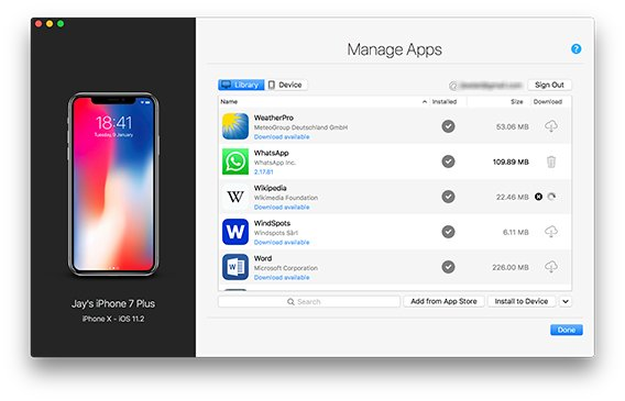 app backup and restore apk iphone
