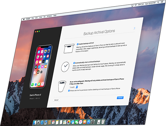 iPhone Backup Software | iMazing