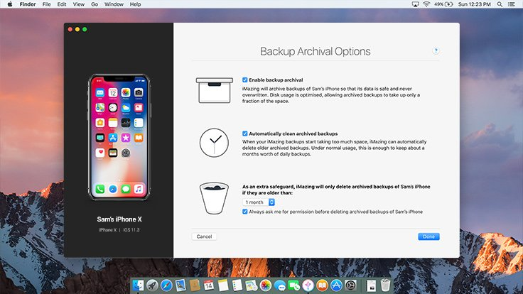 iPhone Backup Browser & Extractor | iMazing