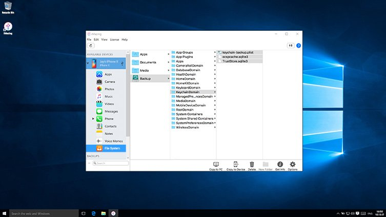 iPhone Backup Browser & Extractor | iMazing