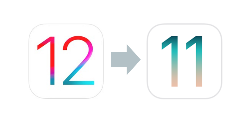 Downgrade iOS 12 to iOS 11