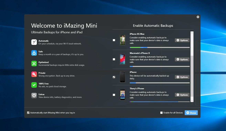 iMazing Mini for Windows is Live