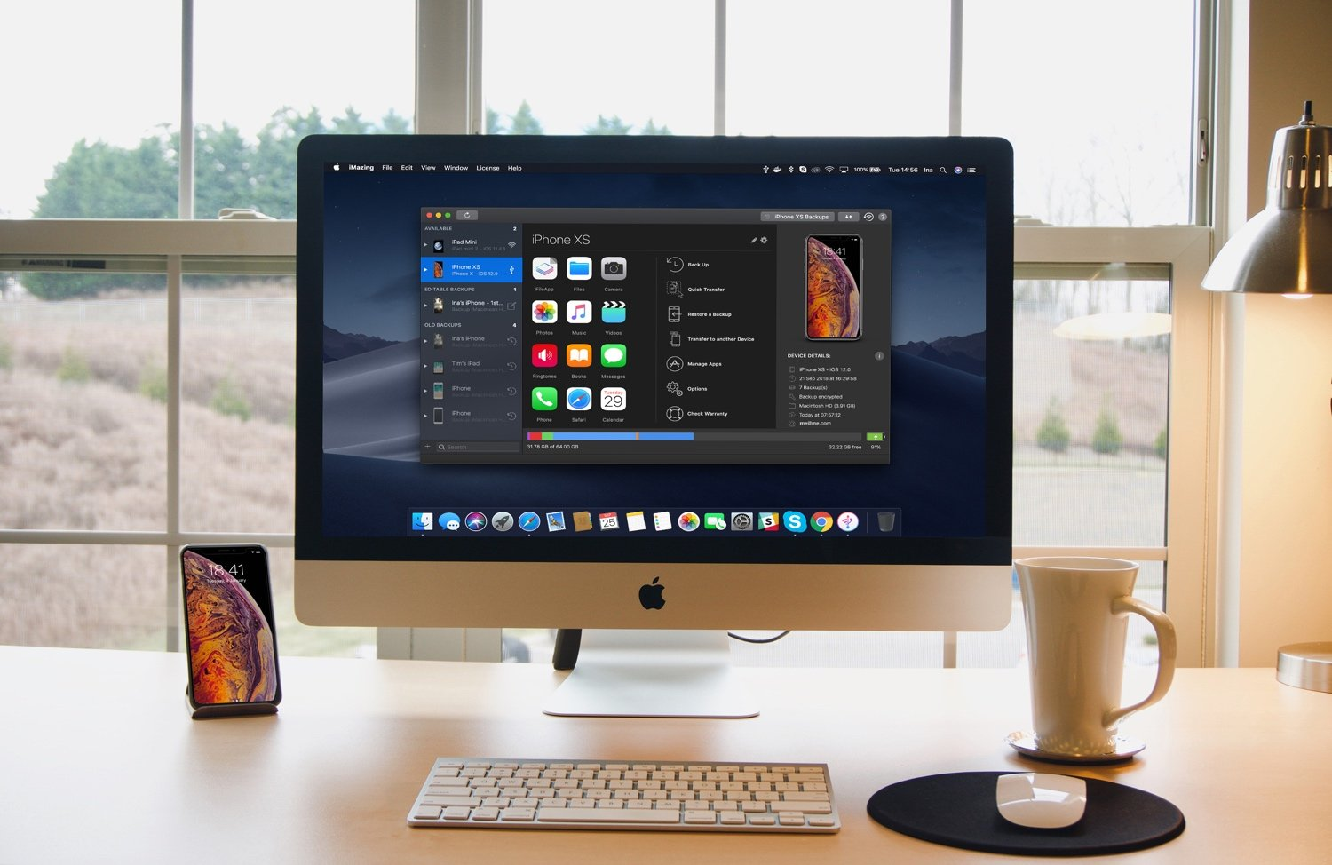 iMazing Mojave Photo Banner