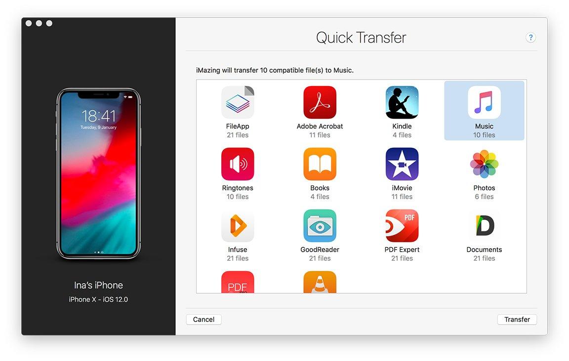 Easily Transfer Documents, Photos and Music to iPhone or iPad